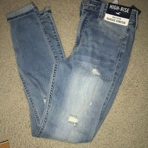 Hollister 0-R  high rise jeans